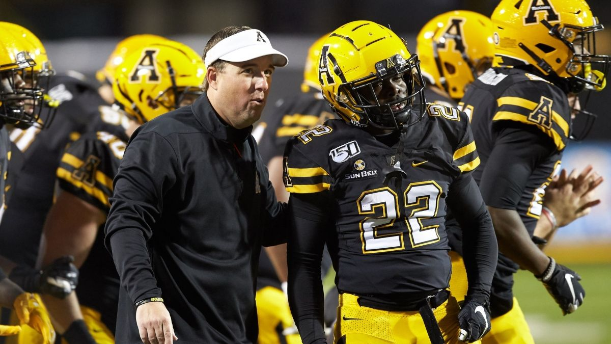 Sun Belt Championship Game Betting Odds & Over/Under: Appalachian State vs. Louisiana article feature image
