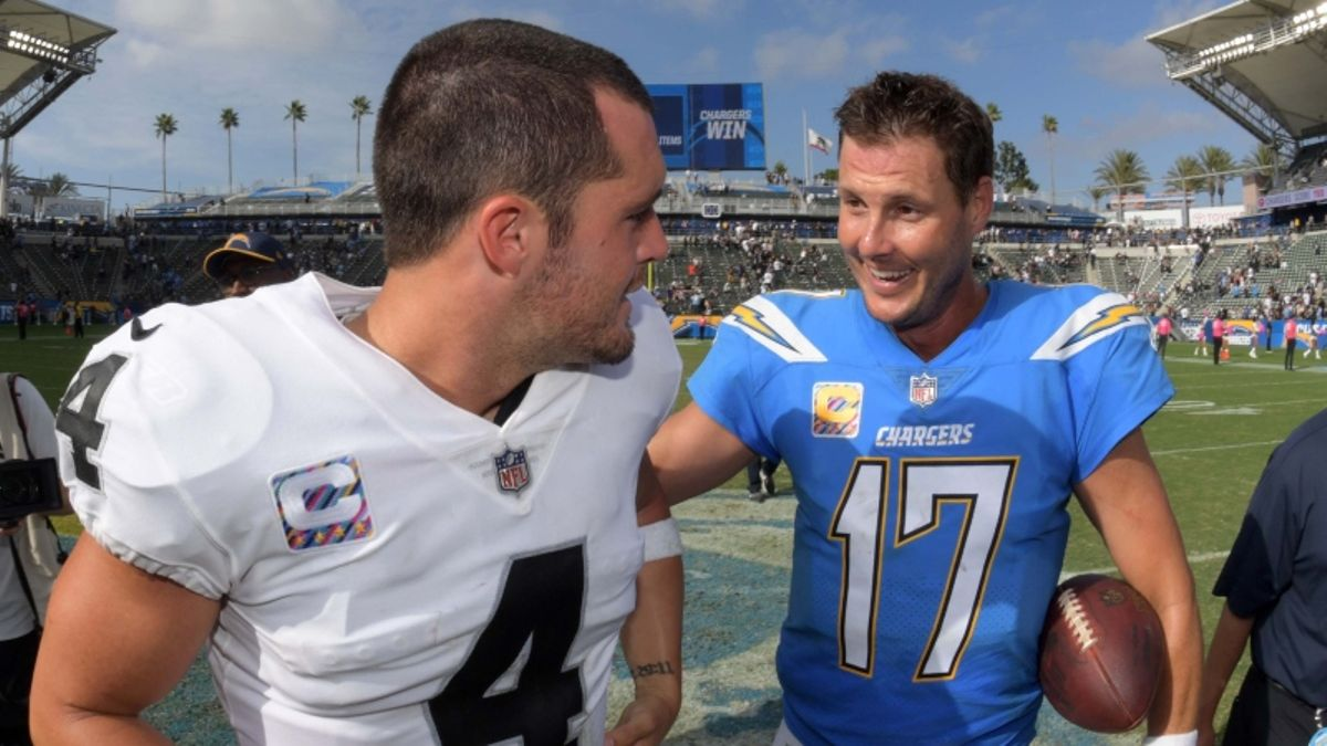 Chargers vs. Raiders Odds & Picks: Back the Road Favorite on Thursday Night Football? article feature image
