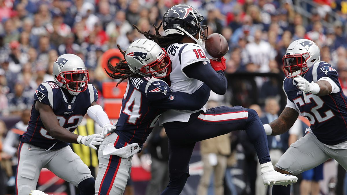 WR/CB Matchups to Know for Week 13 NFL Fantasy Football: Will Stephon Gilmore Shut Down DeAndre Hopkins? article feature image