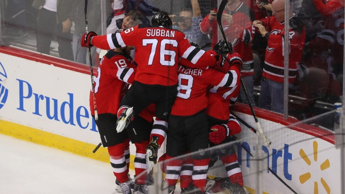 Devils vs. Flames Betting Odds, Pick: Is New Jersey Trending Up? article feature image