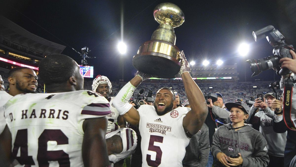 Ole Miss vs. Mississippi State Betting Odds, Picks & Predictions: How To Bet the Egg Bowl on Thanksgiving article feature image
