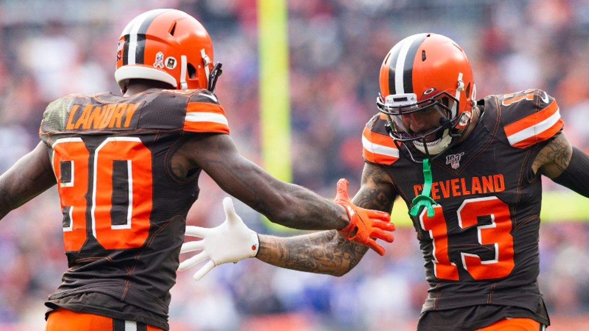 Koerner's Fantasy Football Start/Sit Strategy for Steelers-Browns article feature image