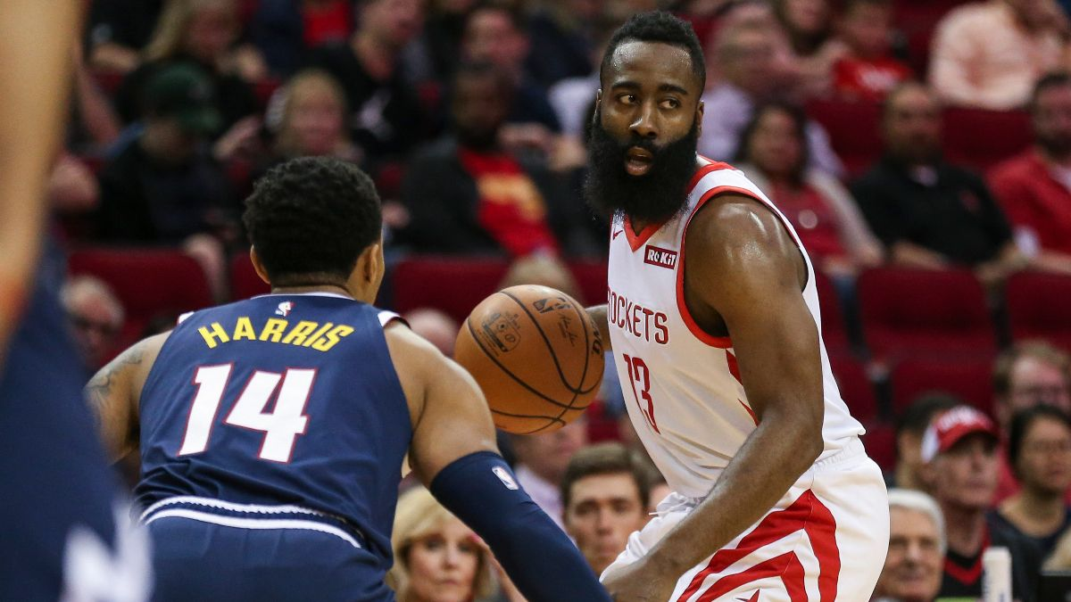 NBA Wednesday Betting Picks & Angles (Nov. 20): Will James Harden Continue Dominating the Nuggets? article feature image