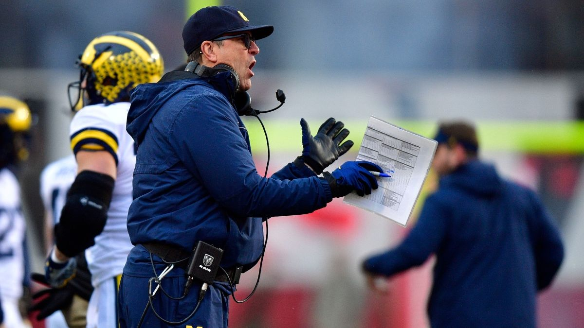 Late Professional Money Blitzing Ohio State vs. Michigan Over/Under article feature image