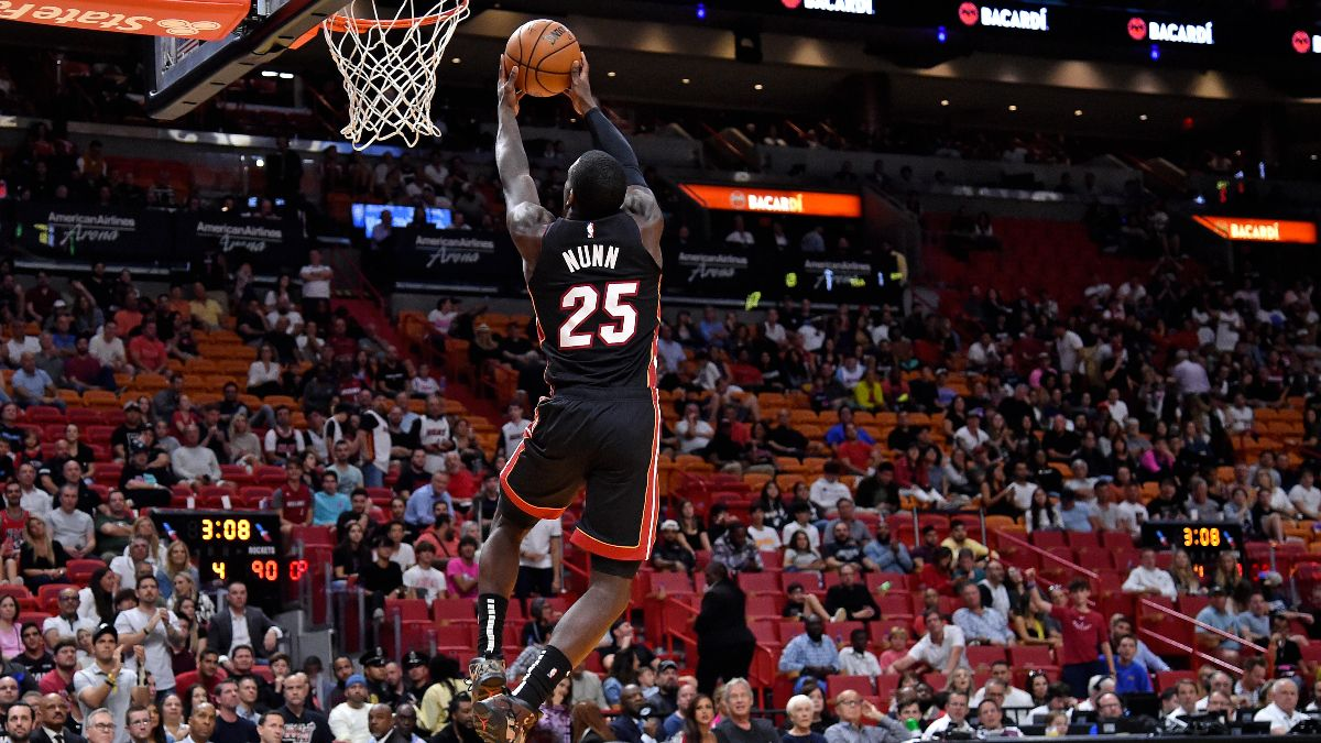 Wednesday's Best NBA Player Props: Can Kendrick Nunn Stave Off Regression? article feature image