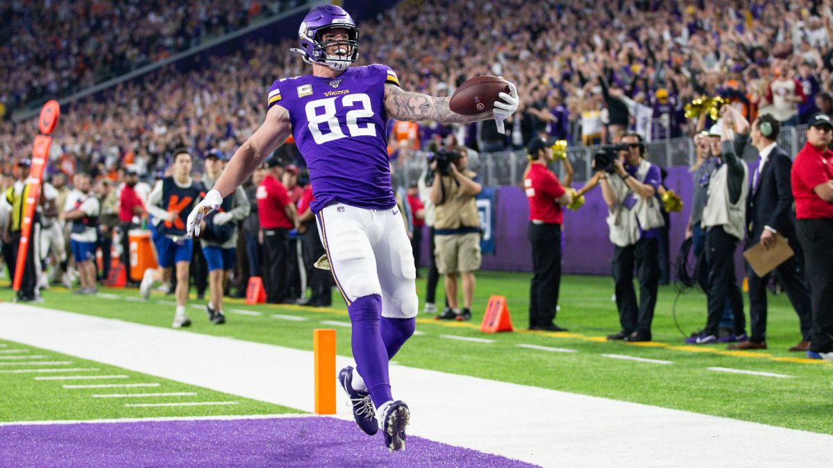 Week 13 Fantasy Football Waiver Wire Targets: Don't Sleep on Kyle Rudolph article feature image