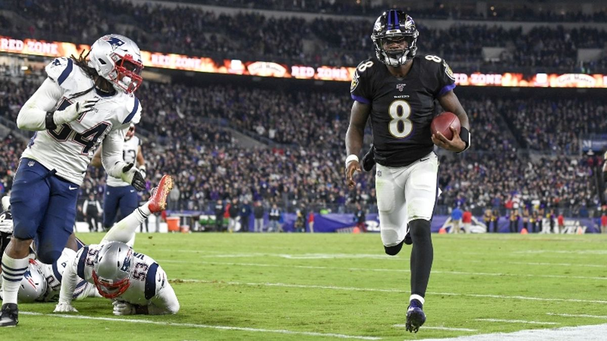 Rovell: Meet the Pro Bettor Who Just Won $285,500 on Lamar Jackson MVP Bets article feature image
