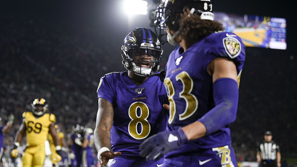 Rovell: Ravens' Blowout Win vs. Rams 'Worst Single-Game Outcome' of the Season for Sportsbooks article feature image