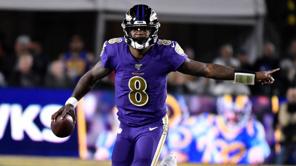 2019 NFL MVP Odds Tracker: Jackson Will Be the Award Winner article feature image