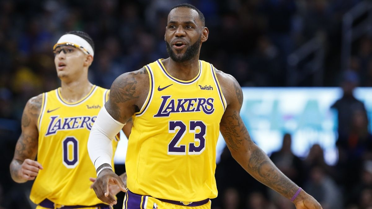 Saturday's Best NBA Player Props: Will LeBron Drop Double-Digit Dimes vs. Grizzlies? article feature image