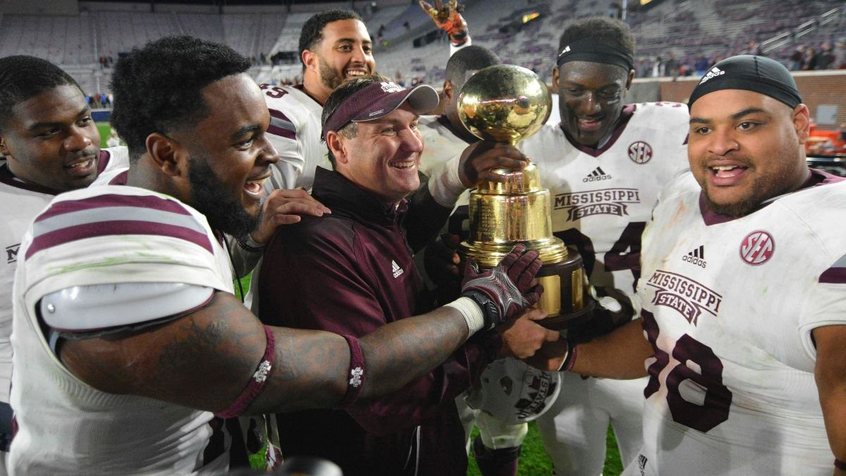Ole Miss vs. Mississippi State Odds, Pick: Sharps Betting Egg Bowl Spread article feature image