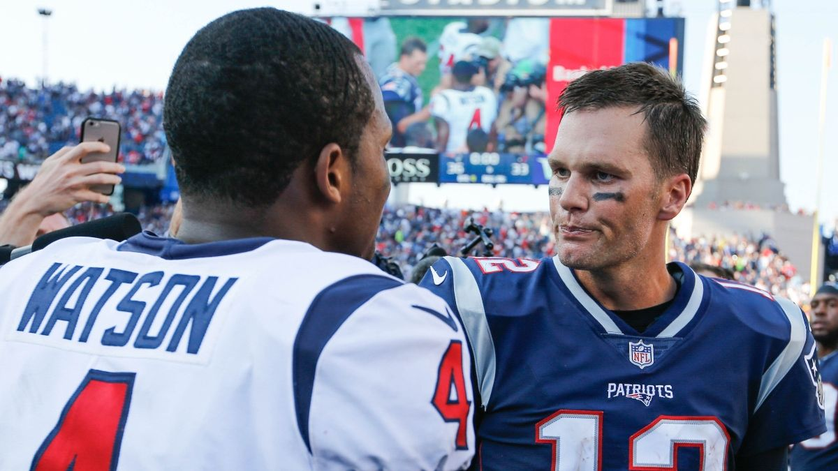 Patriots vs. Texans Picks, Predictions & Betting Odds: Should You Bet Against Brady on Sunday Night Football? article feature image