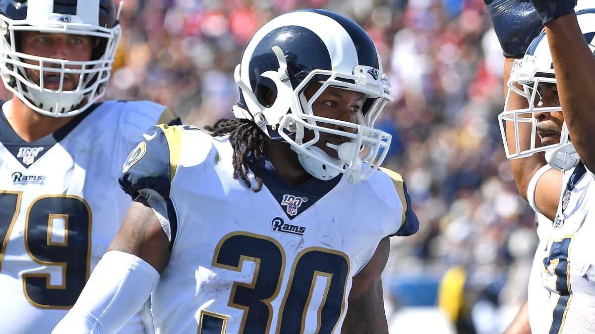 Best Ravens vs. Rams Prop Bets & Picks for MNF: Todd Gurley & Marquise Brown article feature image