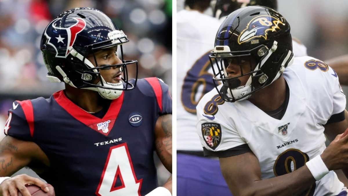 Texans vs. Ravens Odds & Picks: Deshaun Watson or Lamar Jackson? article feature image