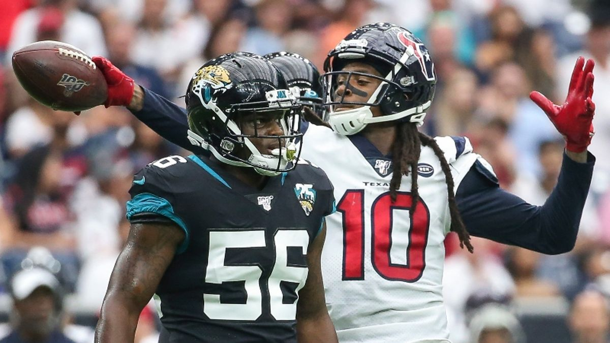 Texans vs. Jaguars Picks & Favorite Bets: How Our Experts Are Betting This London Spread article feature image