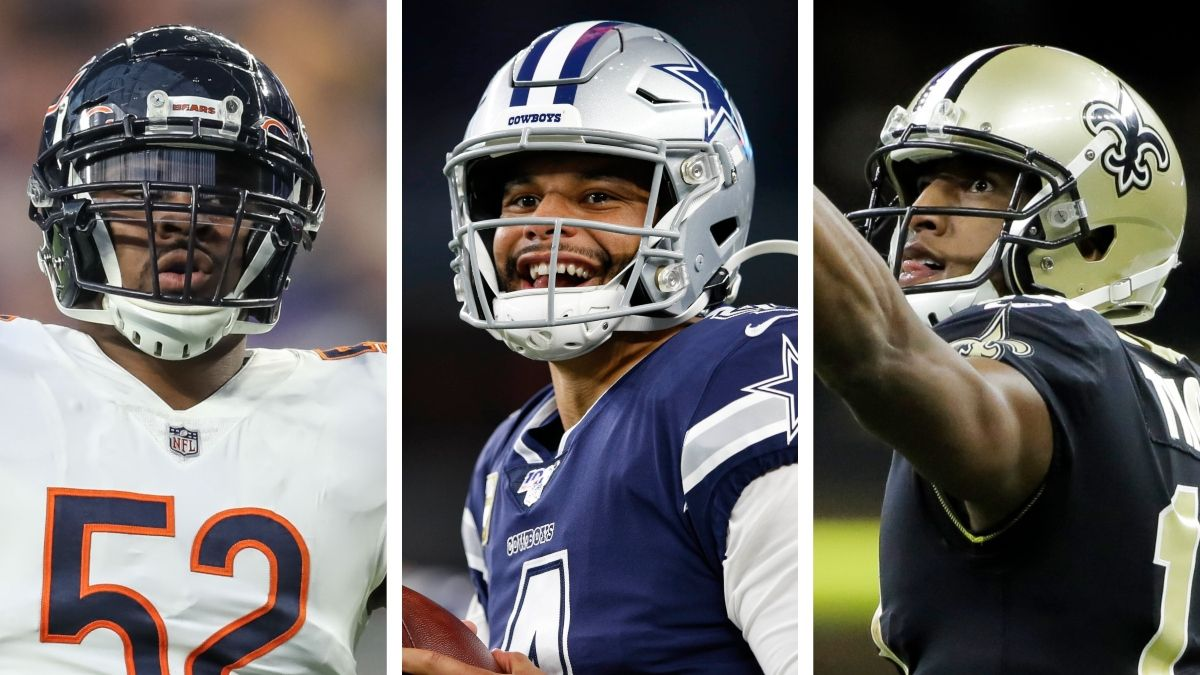 Thanksgiving NFL Odds: Betting Picks For Bears-Lions, Bills-Cowboys, Saints-Falcons article feature image