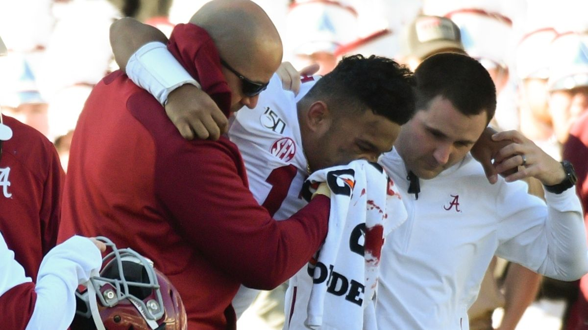 Tua Tagovailoa Out for the Season: How Will Alabama's Odds Change? article feature image