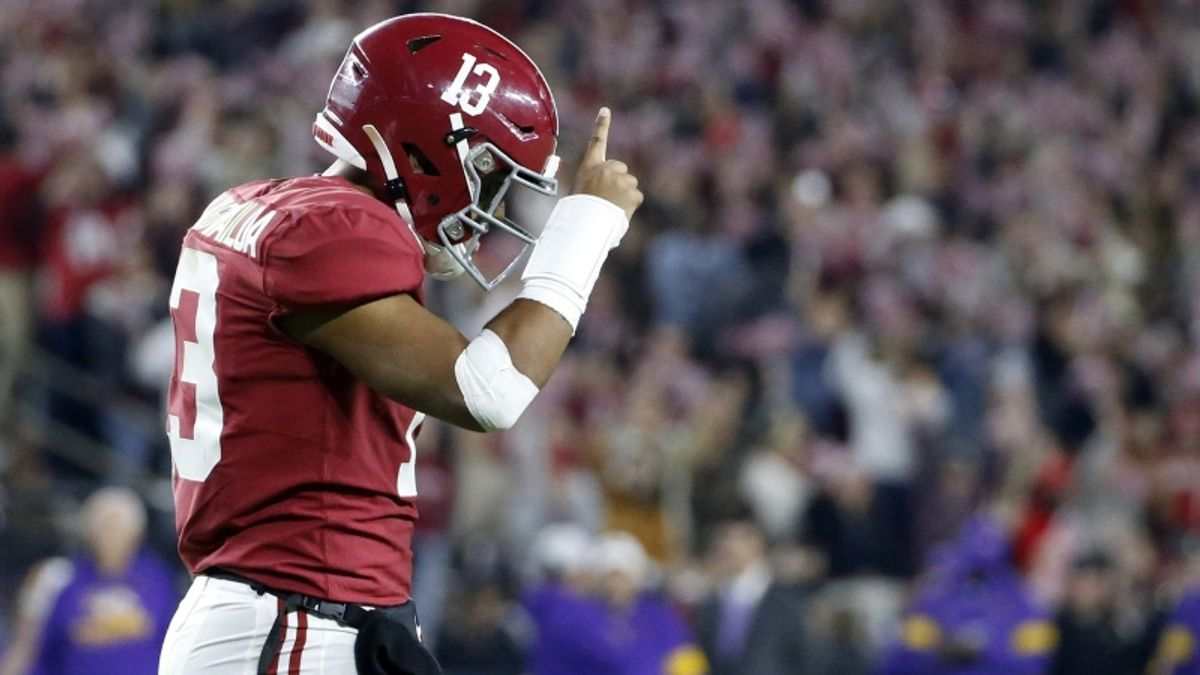 2020 NFL Draft Odds & Prop Picks: Will Tua Tagovailoa Be the Second Quarterback Drafted? article feature image