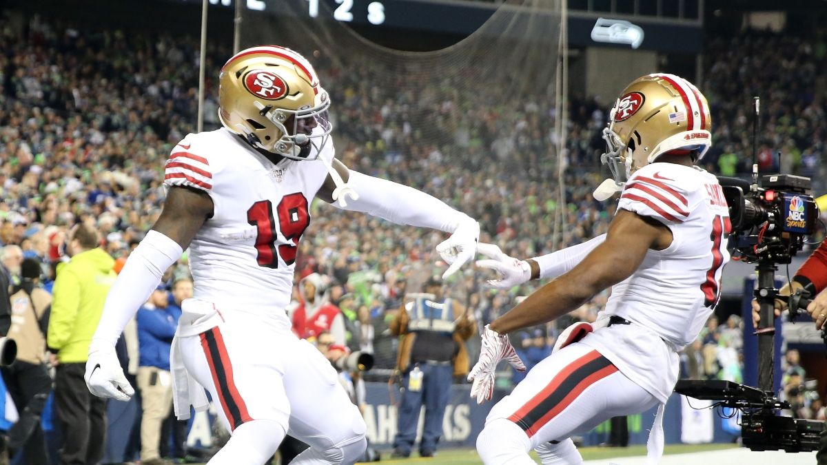 Conference Championships Fantasy Football Half PPR Rankings: WR article feature image