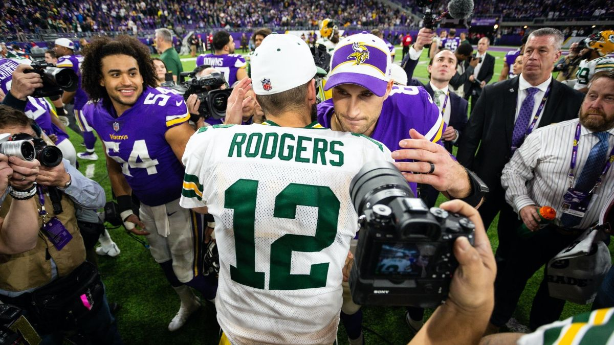 Packers vs. Vikings Betting System Pick: Target the Monday Night Football Over/Under article feature image