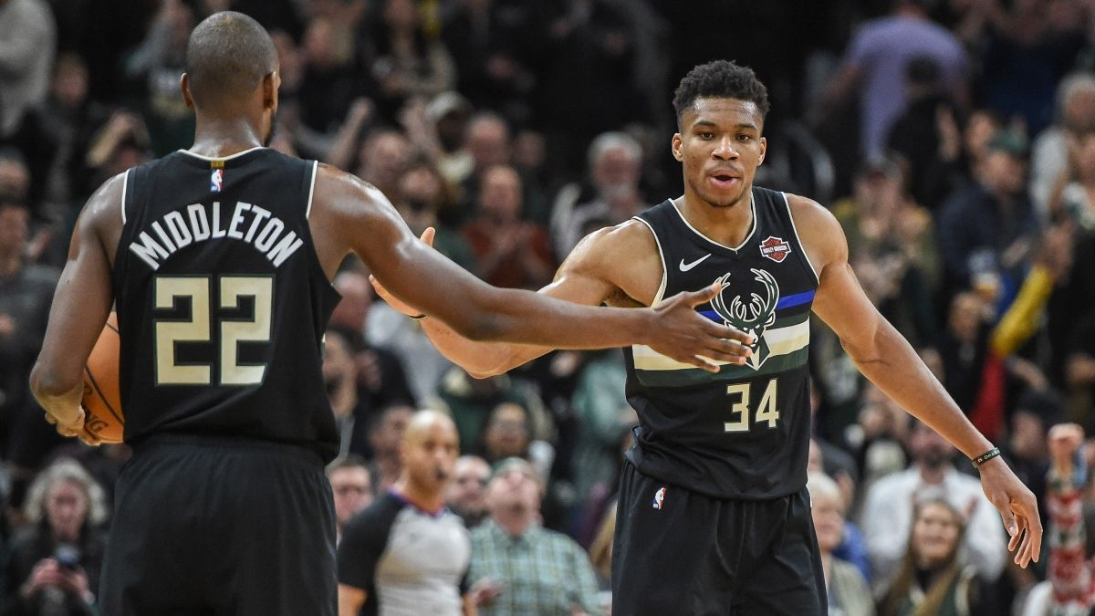 Updated NBA Eastern Conference Playoffs Odds: Bucks Remain Betting Favorites to Make Finals article feature image