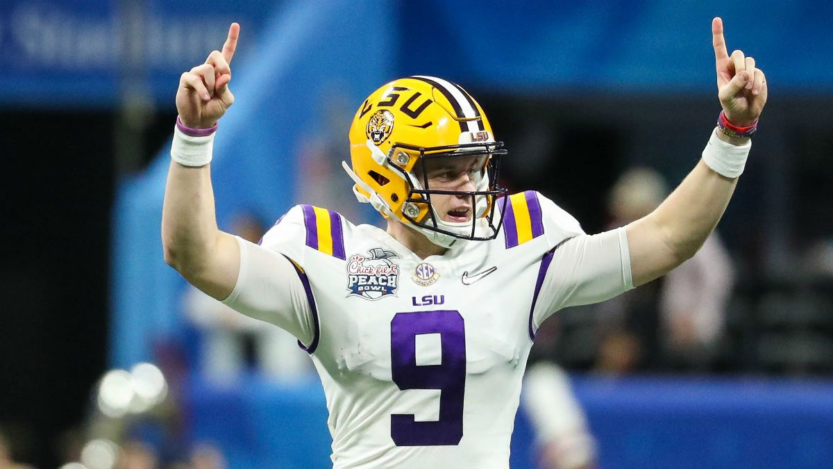 Opening College Football National Championship Game Odds: LSU Favored Over Clemson article feature image