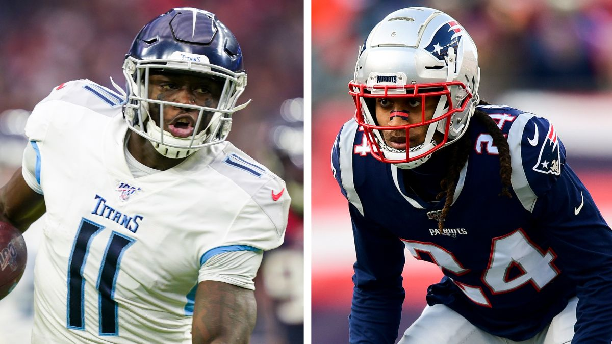 Wild Card Round WR/CB Matchups: A.J. Brown vs. Stephon Gilmore article feature image