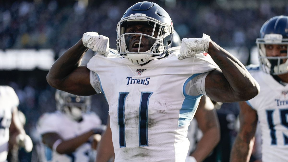 Week 15 Fantasy Football Waiver Wire Pickups: Titans WR A.J. Brown is No Fluke article feature image