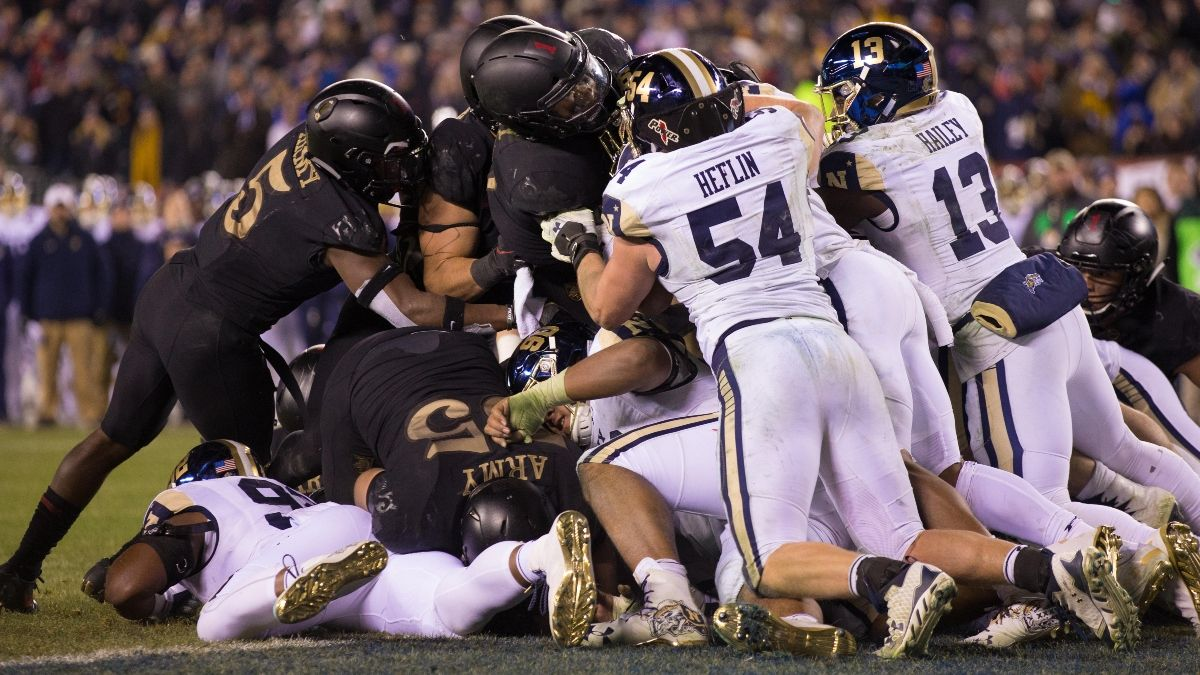 Updated Army vs. Navy Odds & Betting Trends: Over/Under Historically Valuable in Service Academy Games article feature image