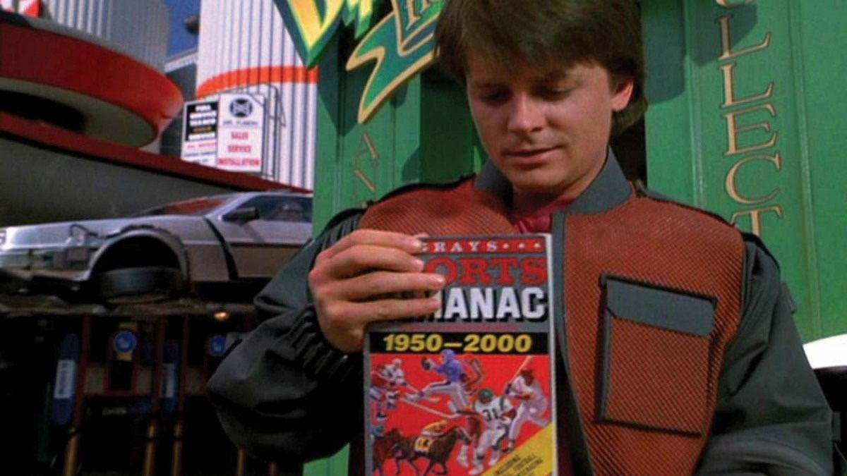 Sports Almanac from 'Back to the Future II' Sells for $8K article feature image