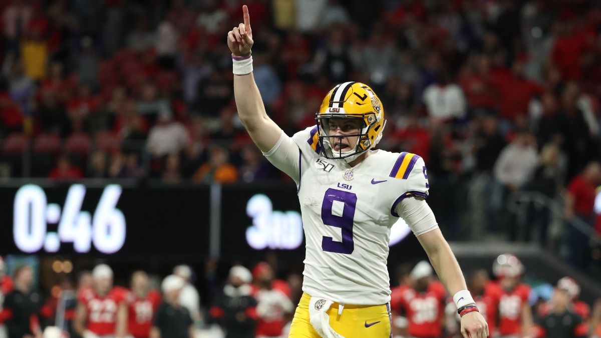Joe Burrow's Heisman Odds & Why His Coronation Will Be a Big Loser for Sportsbooks article feature image