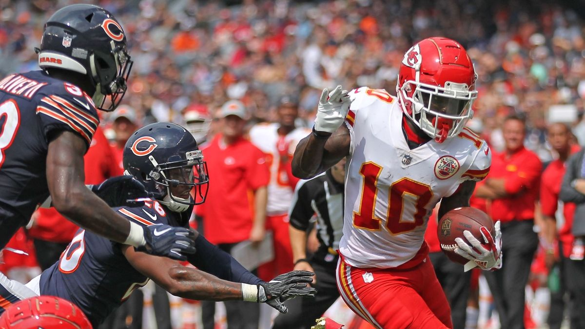 Our 4 Favorite Chiefs vs. Bears Betting Picks: Spread, Over/Under & Props for SNF article feature image