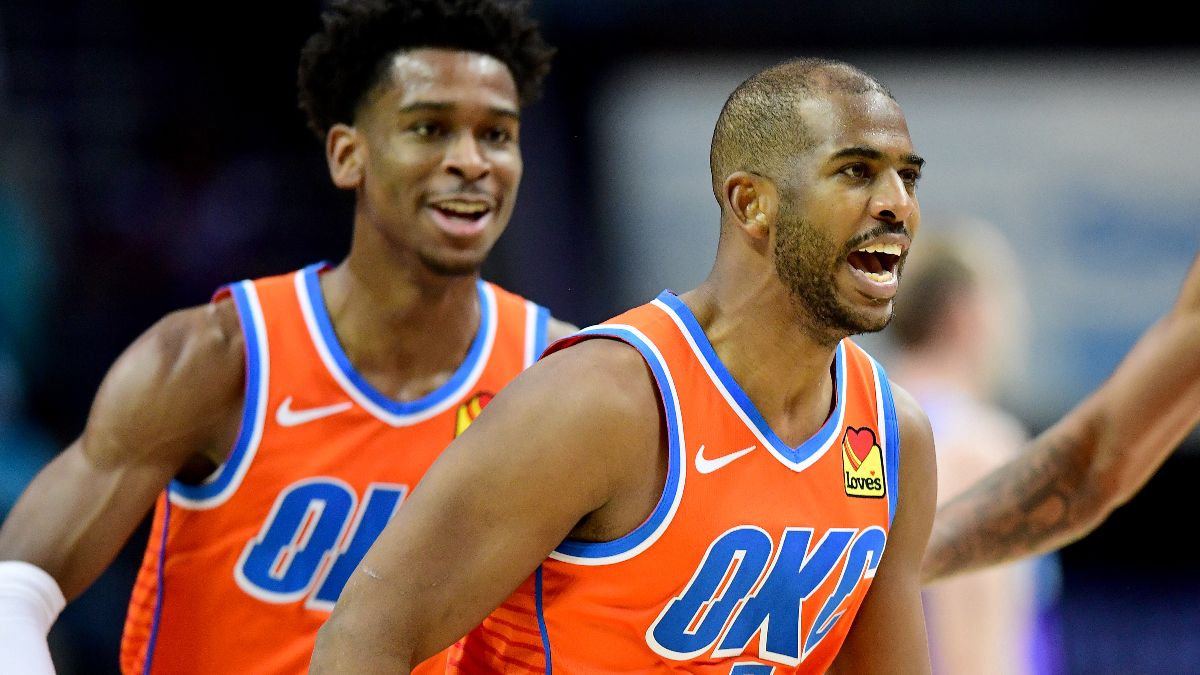 Tuesday's NBA Expert Picks: Our Staff's Favorite Bets for Nuggets vs. Rockets & Mavericks vs. Thunder article feature image