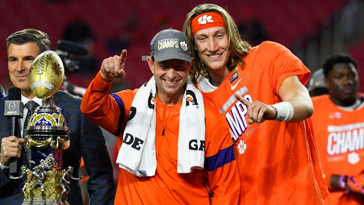 Clemson vs. LSU Odds, Betting Trends: Early Action Moving National Championship Spread article feature image