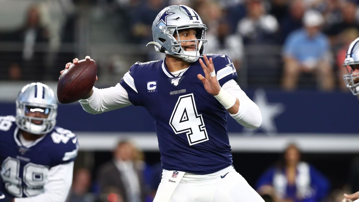 Dak Prescott Injury Affecting Cowboys vs. Eagles Spread & Over/Under article feature image
