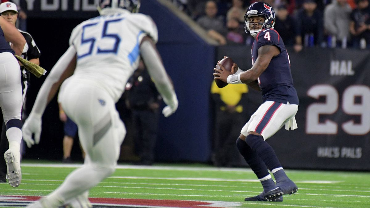 Sonny Banks: How I'm Betting the Texans-Titans Over/Under article feature image