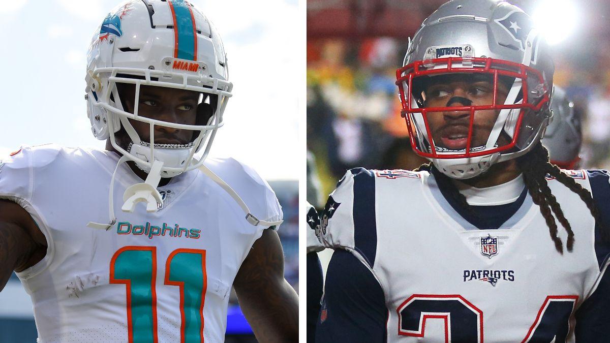 Grading Week 17 NFL WR/CB Matchups: DeVante Parker vs. Stephon Gilmore article feature image