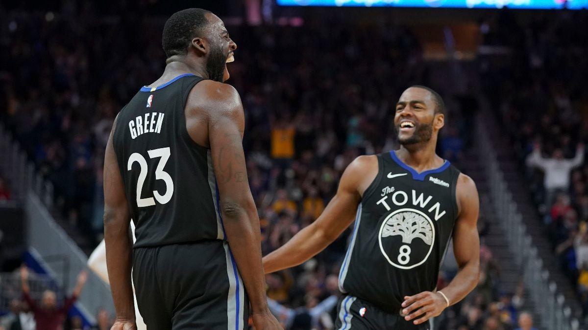 Monday's NBA Experts Picks: Our Staff's Favorite Bets for Raptors vs. Bulls & Grizzlies vs. Warriors article feature image