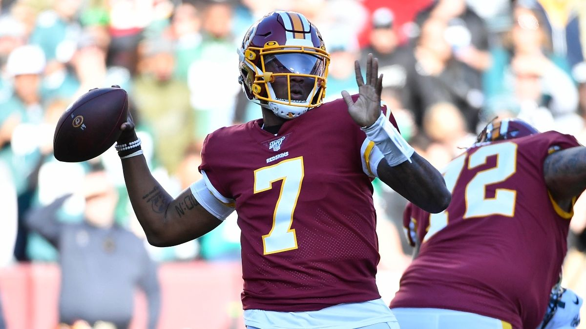 Week 16 Sunday Prop Bets: Dwayne Haskins, John Ross and More article feature image