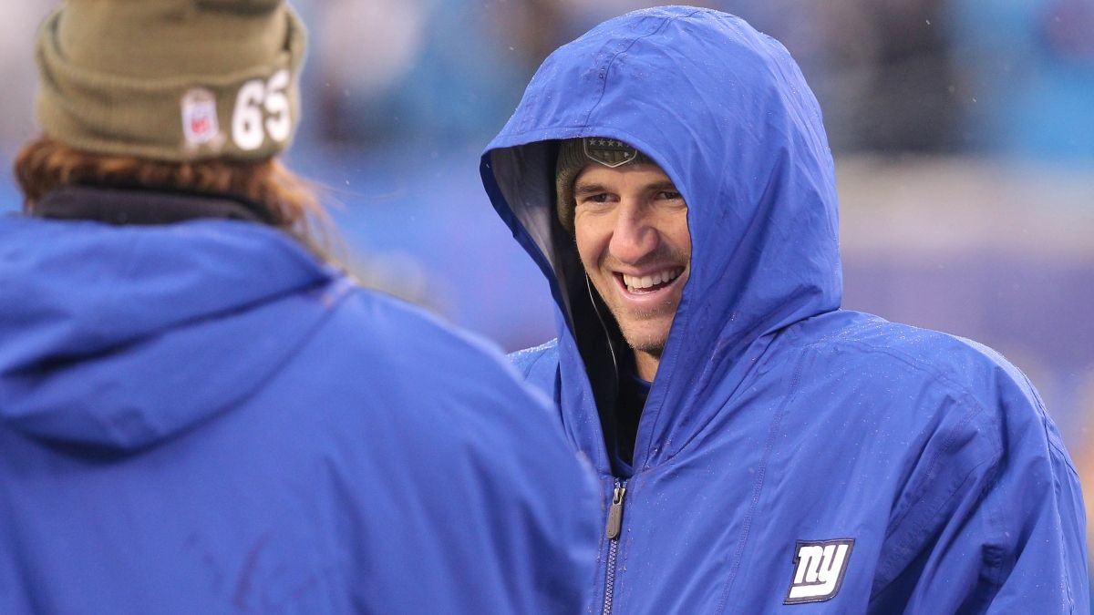 Giants vs. Eagles Weather Forecast: How Wind & Rain Are Moving MNF Over/Under article feature image