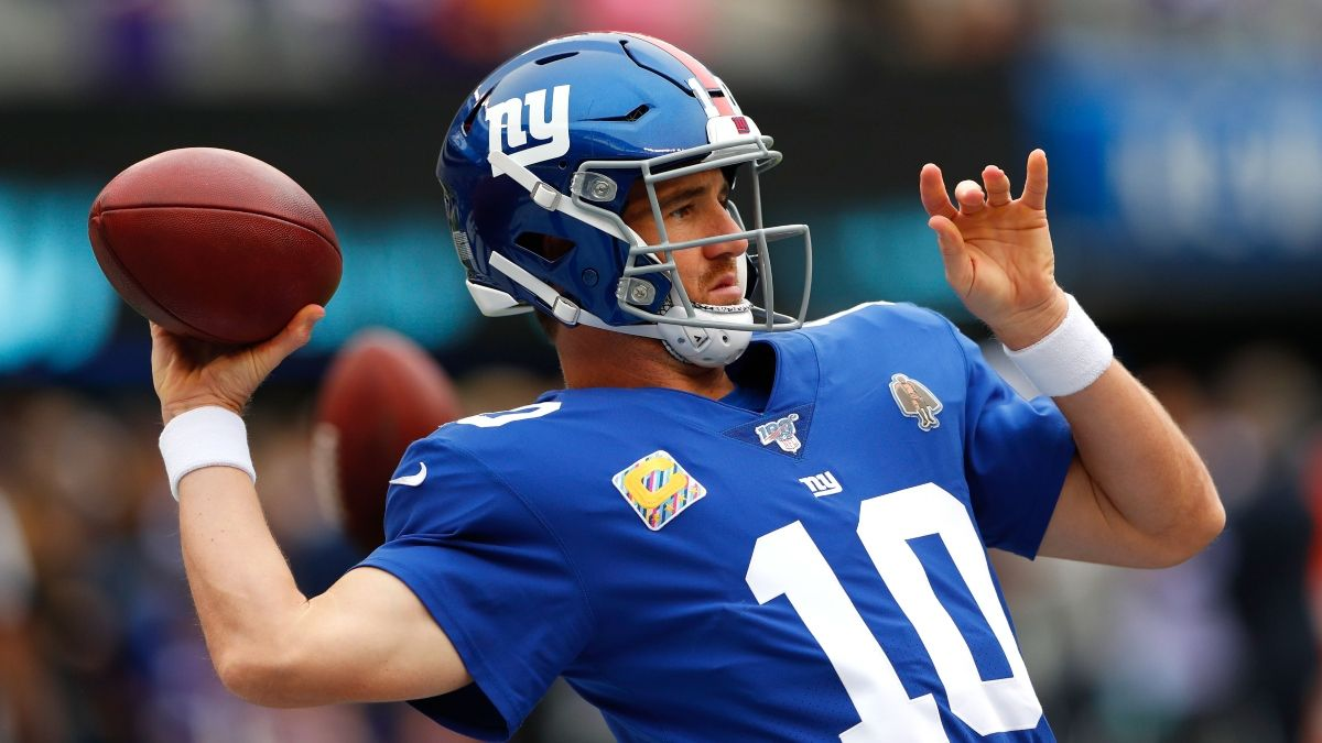 Giants vs. Eagles Odds, Picks, Predictions: How to Bet Eli Manning's Return on MNF article feature image
