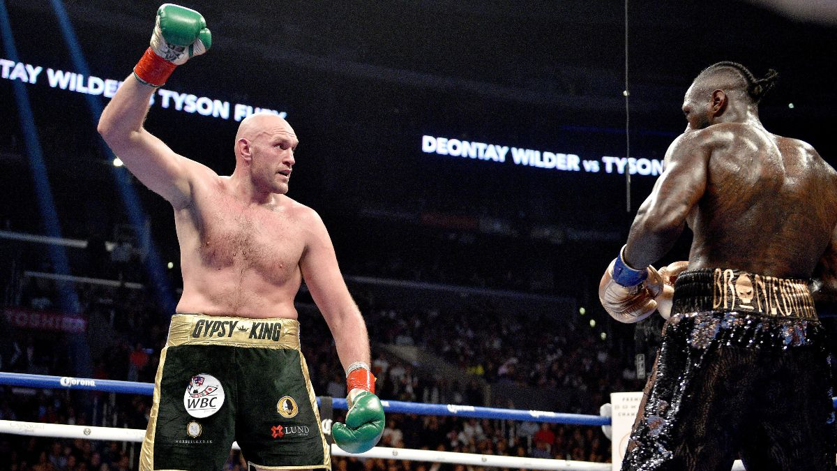 Wilder-Fury II Odds: Gypsy King Favored To Win Rematch in Las Vegas article feature image
