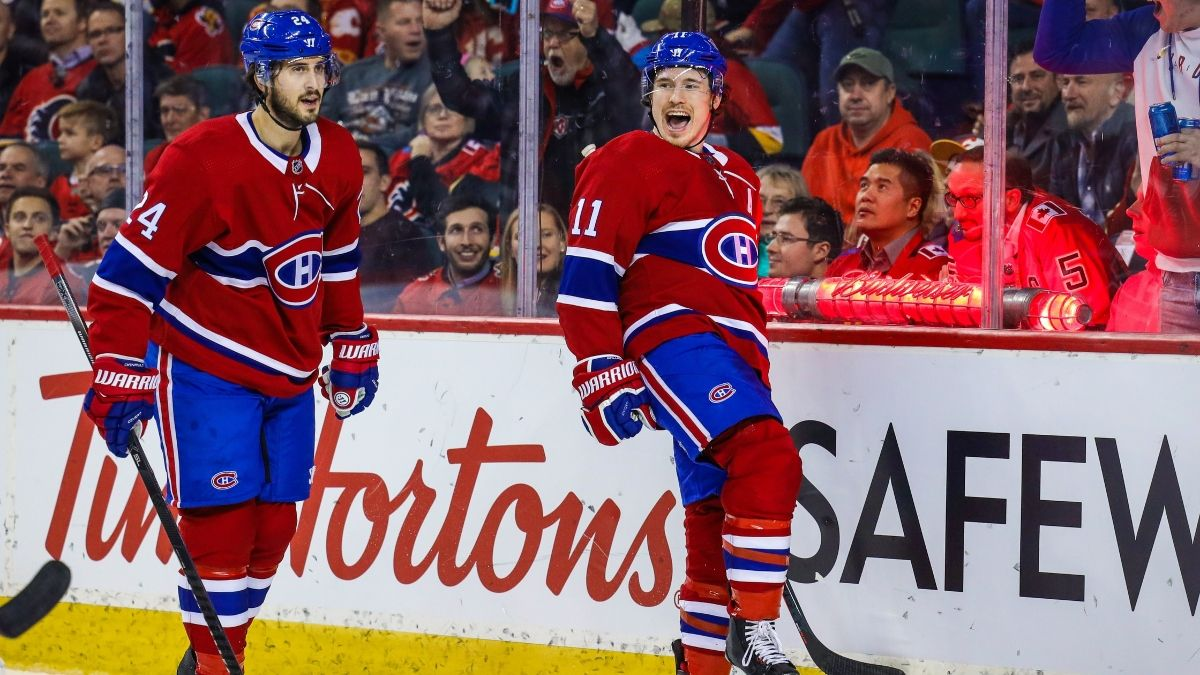 Saturday's NHL Betting Guide: Odds and Picks for Canadiens vs. Oilers and Lightning vs. Capitals article feature image