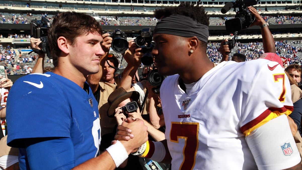 Giants vs. Redskins Betting Picks, Predictions & Odds: How to Play Daniel Jones vs. Dwayne Haskins article feature image