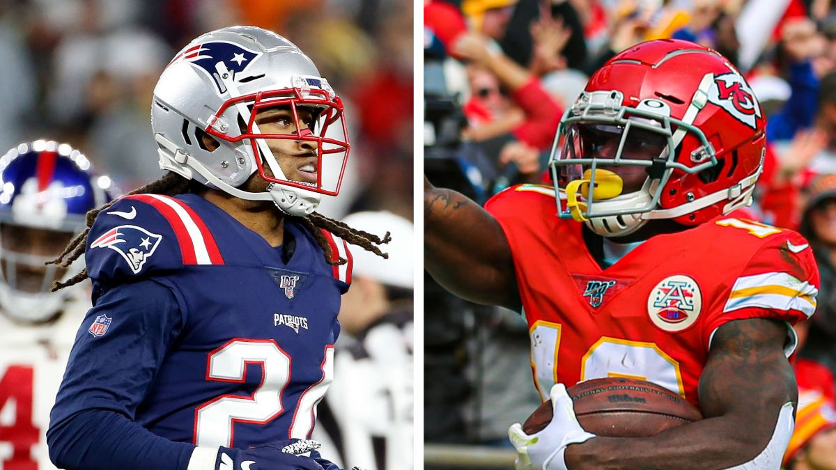Week 14 NFL WR/CB Matchups: Tyreek Hill vs. Stephon Gilmore article feature image