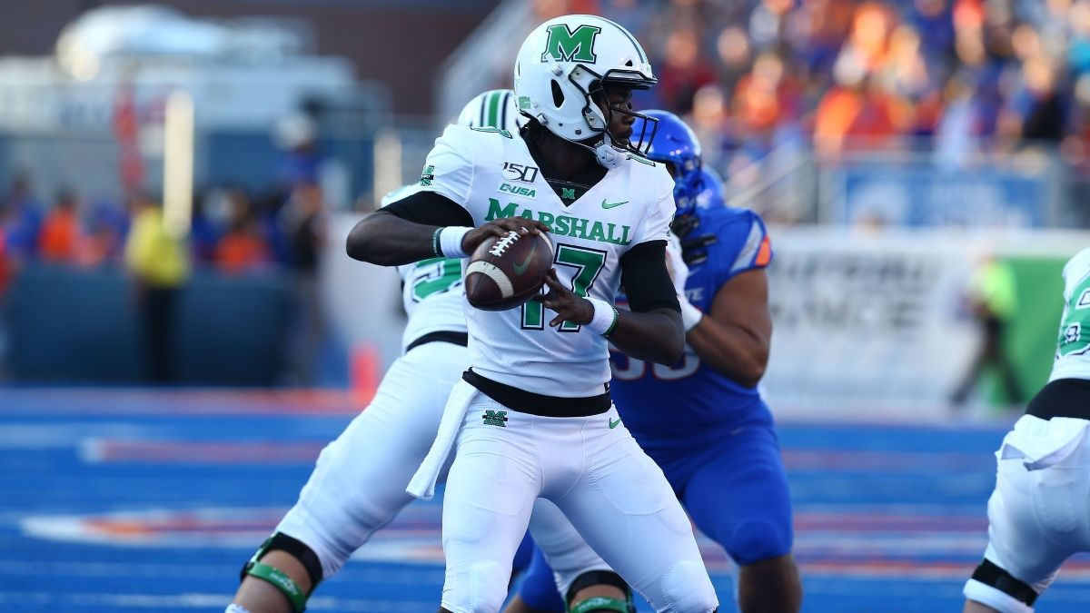 2019 Gasparilla Bowl Odds: Marshall vs. UCF Spread, Over/Under & Our Projections article feature image