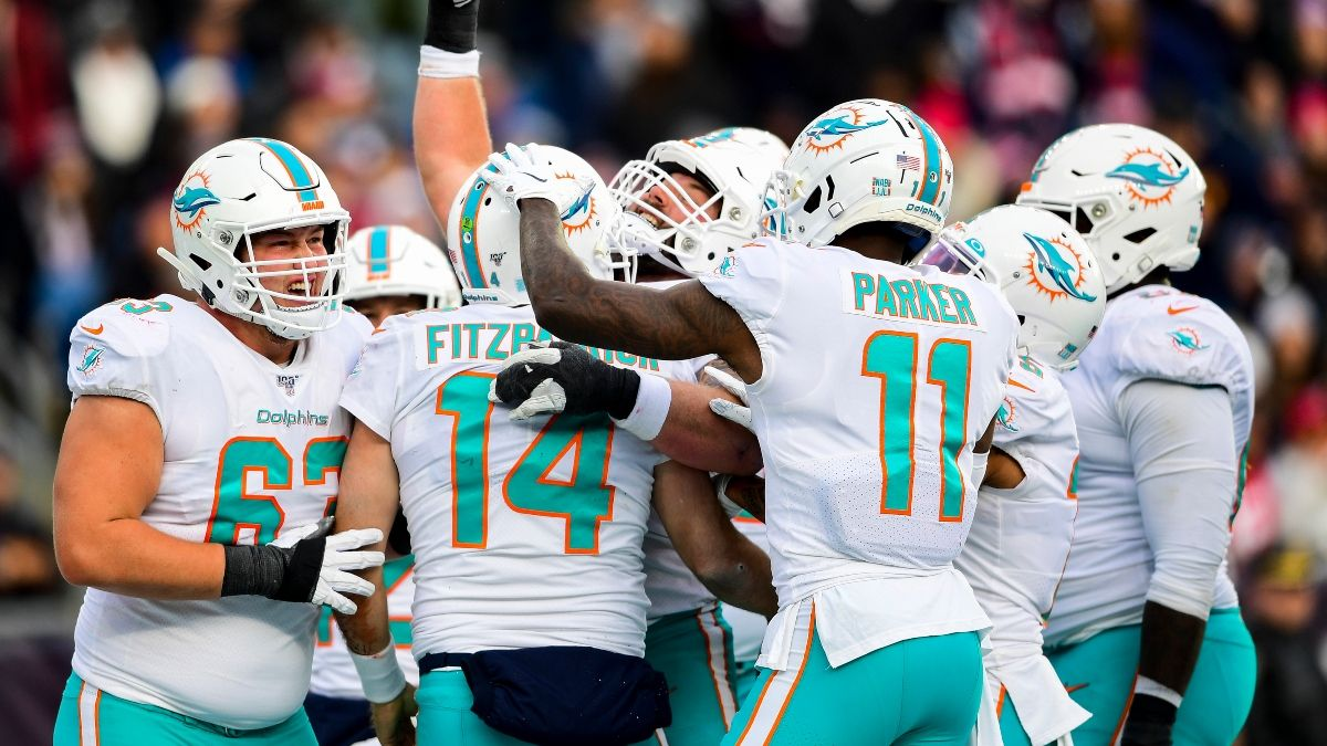 Dolphins vs. Patriots Odds, Spread: Miami Makes Betting History Upsetting New England in Week 17 article feature image