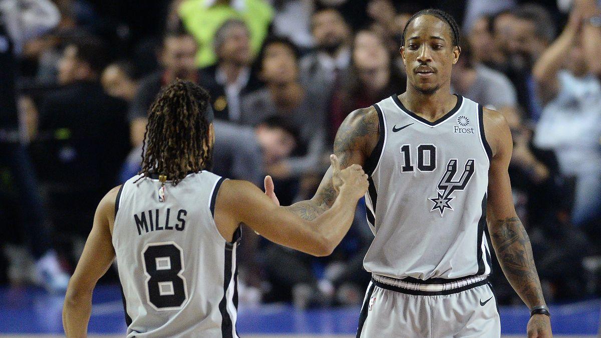 Monday's NBA Experts Picks: Our Staff's Favorite Bets for Spurs vs. Rockets, Mavericks vs. Bucks article feature image