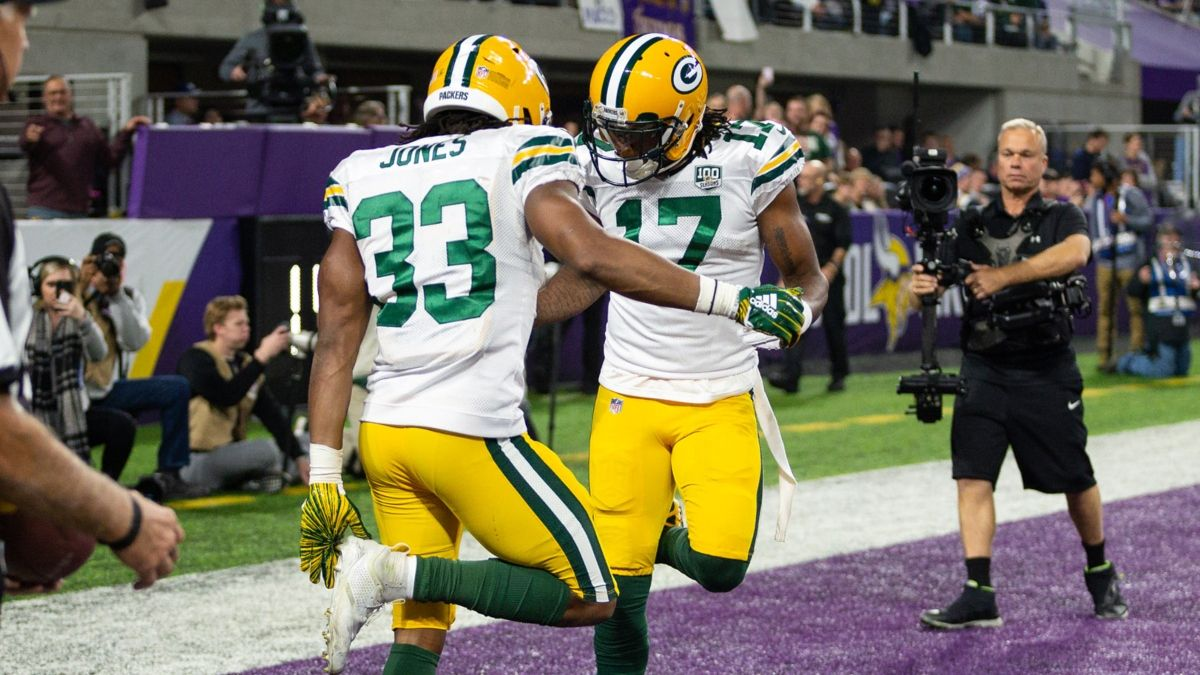 Koerner's MNF Miracle Odds: Chances Packers & Vikings Players Will Win Your Fantasy Football Championship article feature image
