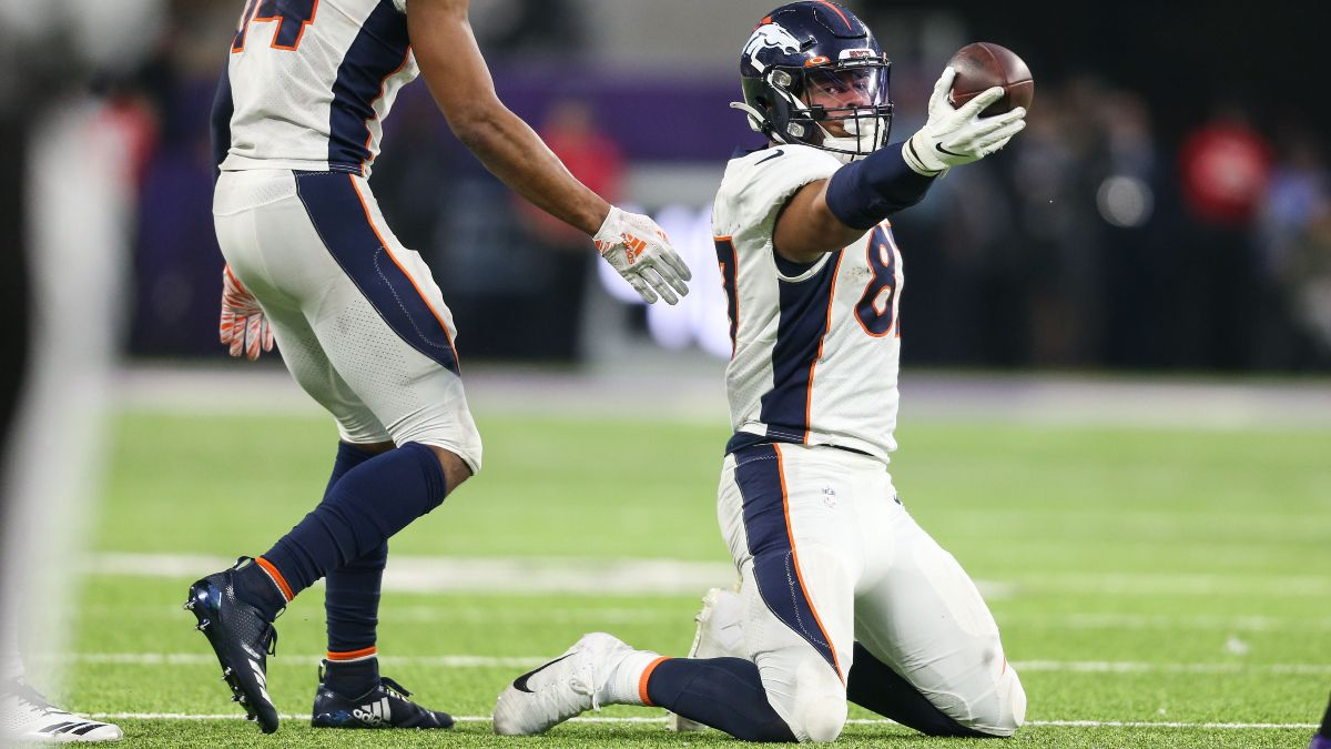 Week 16 Fantasy Football Waiver Wire Pickups: Noah Fant Could Be Key for Championship Weekend article feature image